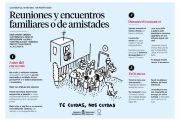 Publicadas nuevas medidas de aforo en lugares de culto, celebraciones y espectáculos en Navarra