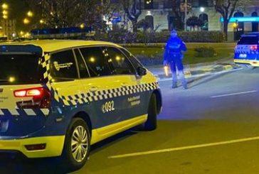 Policía Municipal de Pamplona interpone 52 denuncias por botellón y 47 por no usar mascarilla