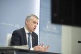 País Vasco declarará desde este lunes la emergencia sanitaria frente al coronavirus