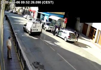 Tres detenidos por robos en domicilios y negocios en Peralta (Navarra)