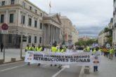 Manifestación histórica en defensa de retribuciones y condiciones dignas para los militares