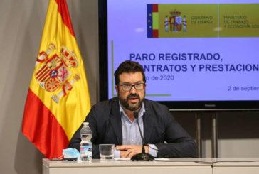 El paro aumenta en España en 29.780 personas en agosto
