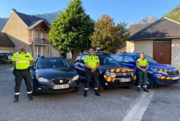 Guardia Civil de Navarra participa en el dispositivo 'Tour de Francia' 2020