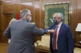 El alcalde de Pamplona se reúne con el presidente del Comité Olímpico Español