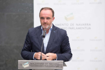 """Esparza: Chivite """"es presidenta gracias a quienes apoyan los homenajes a presos de ETA"""""""