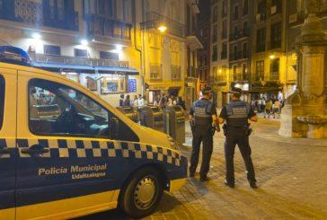 La Policía Municipal de Pamplona interviene en siete fiestas particulares