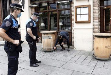Policía Municipal cursó en Semana Santa tantas denuncias por incumplir las normas por el Covid como una quincena normal