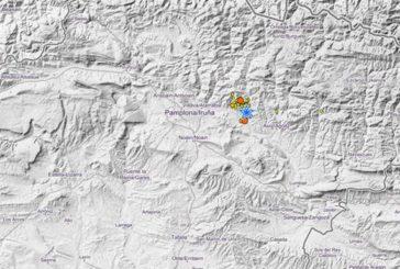 Navarra registra este miércoles otros dos terremotos de 2,4 grados en Lizoain y Egüés