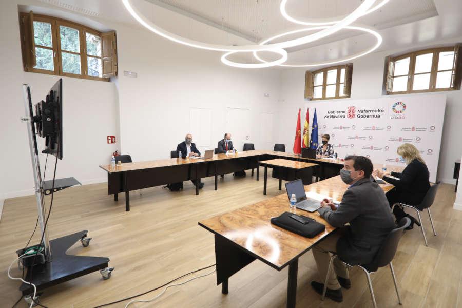 Chivite defiende ante el Comité de las Regiones de la UE el sector de la automoción