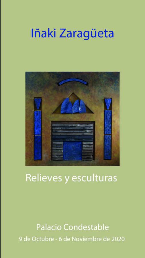 AGENDA: 9 de octubre a 6 de noviembre, en Civivox Condestable, exposición de Iñaki Zaragüeta 'Relieves y escultura'