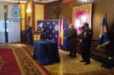Policía Nacional condecora en Navarra a 33 agentes del Cuerpo policial y a 6 personas con la Orden al Mérito Policial