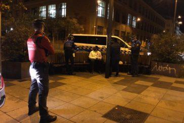 87 denuncias el fin de semana en Pamplona por incumplimientos de las restricciones frente al coronavirus