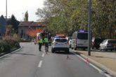 Trasladado al CHN un ciclista tras una caída en la calzada en Huarte