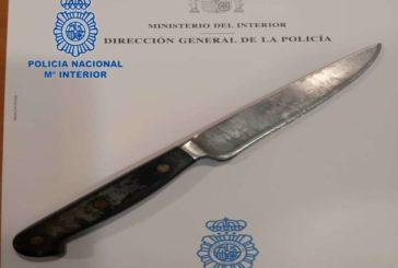 Arrestado por intento de apuñalamiento a un Policía Nacional en Pamplona