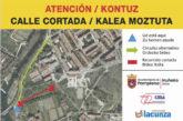El Ayuntamiento de Pamplona cierra provisionalmente el transito del Camino del parque de Irubide