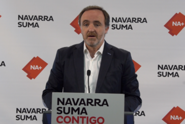 Esparza (NA+) pide al Gobierno de Navarra que centre su esfuerzo en el empleo