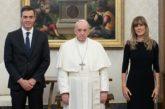 El Papa a Sánchez:
