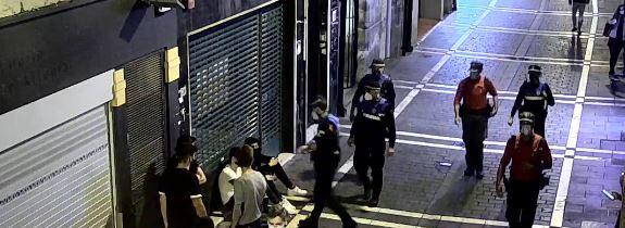 Aumentan las sanciones en Pamplona por incumplimiento del horario del estado de alarma