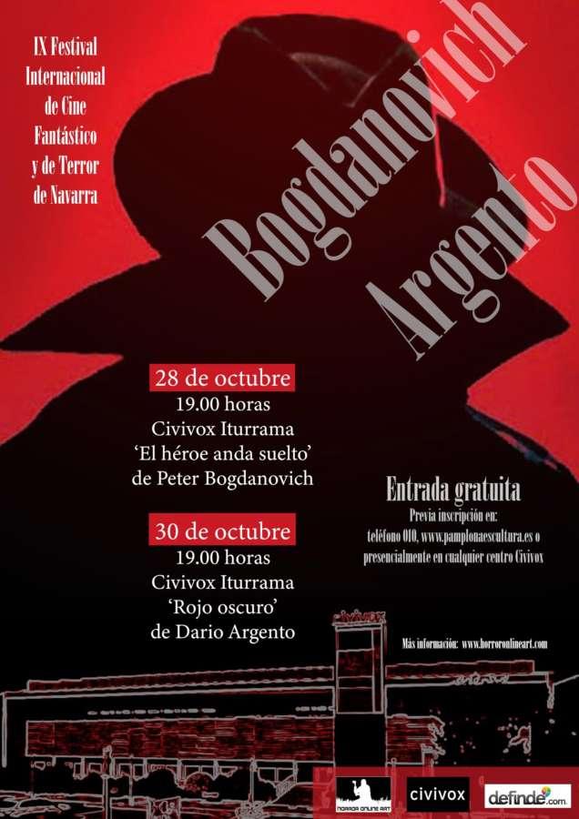 Bogdanovich y Argento protagonizan la IX Edición del Festival de Cine Fantástico y de Terror de Navarra