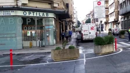 El Ayuntamiento de Pamplona volverá a abrir a la circulación dos carriles en la calle Amaya