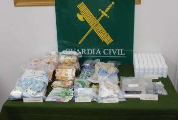 Desarticulados en Estella cinco puntos de venta de droga