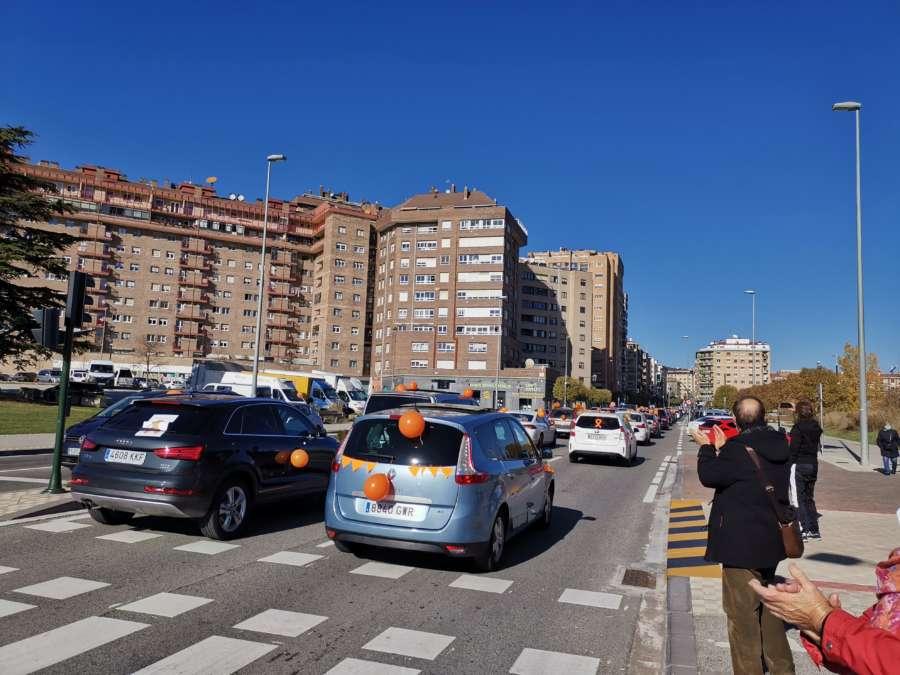 Masiva manifestación #StopLeyCelaá en Navarra contra la Lomloe de Educación