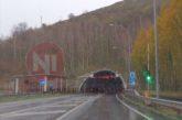 Mañana martes se cerrará el sentido norte de los túneles de Belate y Almándoz