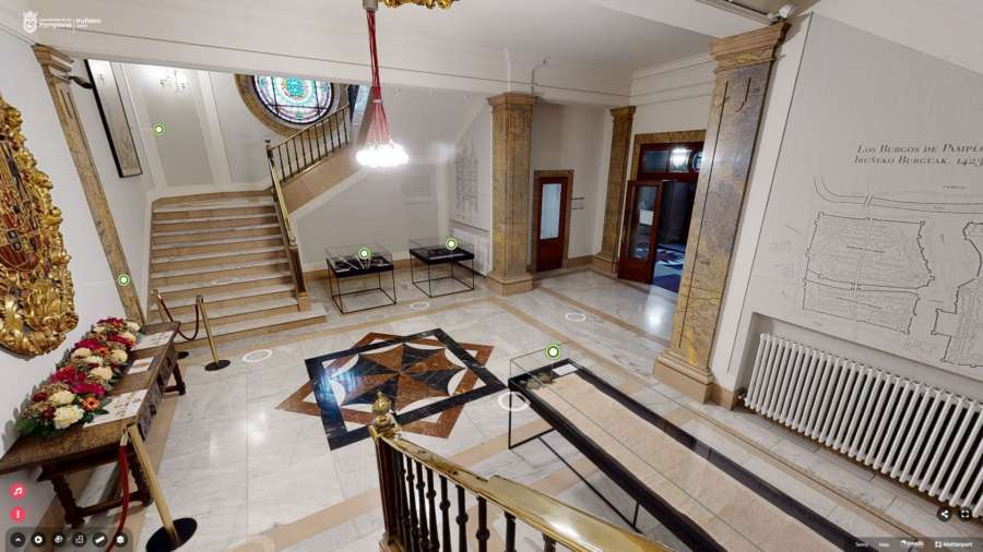 El Ayuntamiento de Pamplona abre las puertas de su Casa Consistorial de forma virtual