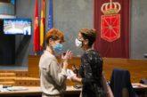 Chivite se compromete don el régimen foral el Día de Navarra