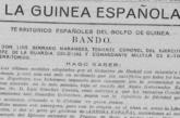 La Guinea ecuatorial española