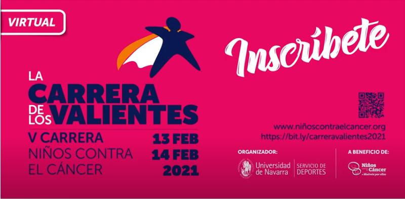 La V Niños contra el Cáncer, Carrera de los Valientes, se celebrará en febrero en formato virtual