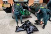 Detenido en Cizur con 8,8 kg de marihuana en el maletero