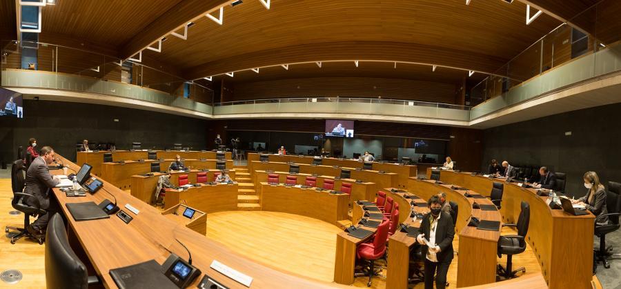 El Parlamento insta al Gobierno de Navarra a evaluar el deterioro de la salud psicológica y emocional de la población por el coronavirus