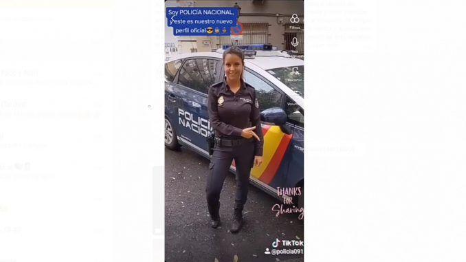 TikTok: la nueva arma de la Policía Nacional para llegar a los más jóvenes en la pandemia