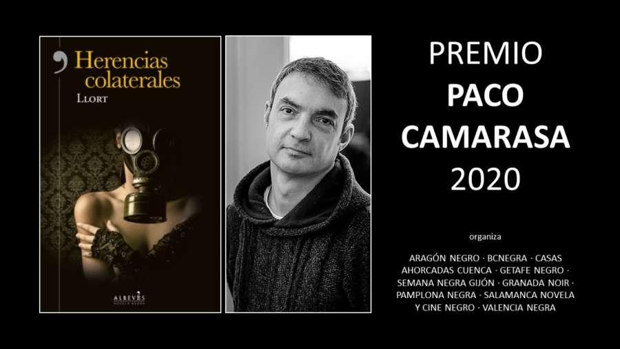 Entrega del Premio 'Paco Camarasa' de novela negra en su I Edición