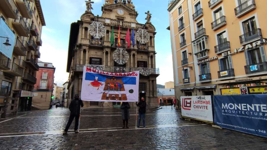 La Peña Multizarra despide 2020 con apoyo a la Hostelería de Navarra