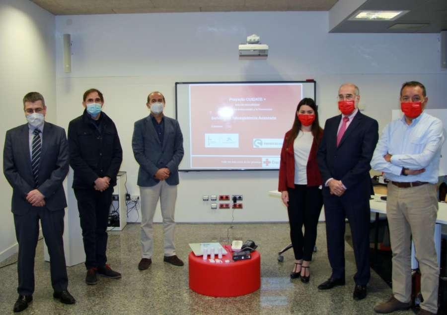 """Cruz Roja presenta """"Cuídate +"""", un servicio de Teleasistencia avanzada"""