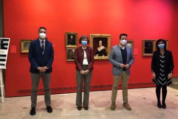 La consejera Esnaola visita en Tudela el Museo Muñoz Sola y se reúne con el patronato de la Fundación María Forcada