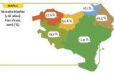 NA+ denuncia la inclusión de Navarra en el País Vasco en una web financiada por el Gobierno de Chivite