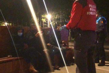 Policía Foral denuncia este fin de semana 52 incumplimientos por la normativa del coronavirus