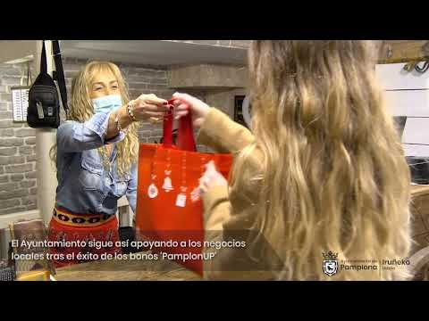 Casi 600 establecimientos participan en la campaña 'Regala Pamplona' de apoyo al comercio local