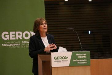 Uxue Barkos, Secretaria General de GEROA Socialverdes