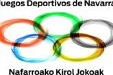 Convocados los XXXIV Juegos Deportivos de Navarra