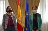 Chivite presenta a Maroto los proyectos para las ayudas europeas Next Generation UE