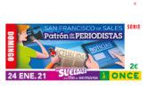 El cupón de la ONCE celebra San Francisco de Sales, Patrón de los periodistas