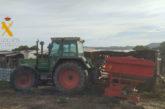 Investigado un joven por el hurto de un tractor en la provincia de Zaragoza