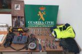 Detenido por robo con fuerza en una empresa en Lodosa (Navarra)