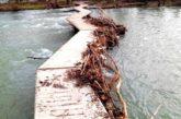 PSN exige la limpieza de las pasarelas del Molino de Caparroso tras el temporal Filomena