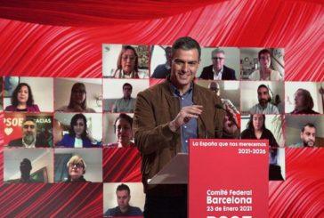 Sánchez reivindica al PSOE como la izquierda real frente a las opciones que