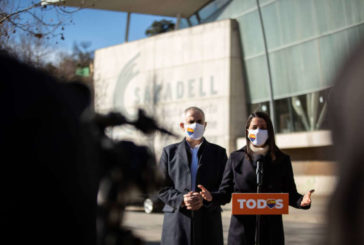 Arrimadas apuesta por un Gobierno en Cataluña PSC-Cs tras las elecciones del 14-F